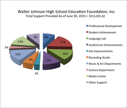 Total Support Provided As Of June 30, 2015